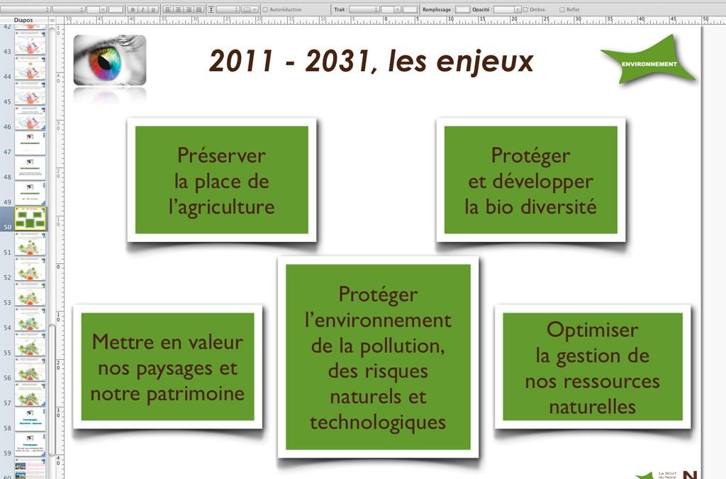 Création de présentation multimédia pour le SCoT du Nord Toulousain